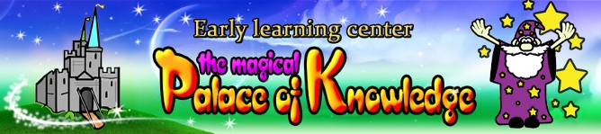 Logo, Magical Palace of Knowledge, Day Care Center